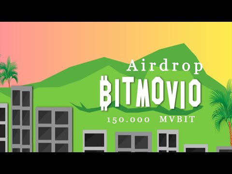 150,000 Mil Tokens MVBIT no Evento de Airdrops BitMovio dentro da Gleam. IMPERDIVEL !!