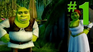 Shrek 2: Game Walkthrough Part 1 - Shrek