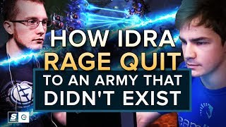 How IdrA Rage Quit to an Army That Didn