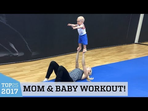 Amazing Fit Mom Routine   Top 25 of 2017