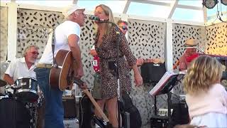 Jimmy Buffett sings Margaritaville at The Surf Lodge with Nancy Atlas Project 8 30 17