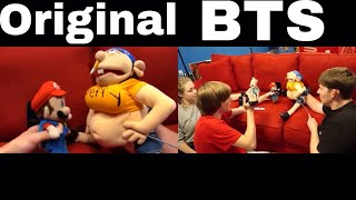 SML Movie: Pregnant Jeffy! BTS and Original Side By Side!