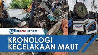 Kronologi Kecelakaan Maut, 1 Truk Tronton dan 7 Kendaraan Bermotor di Temanggung