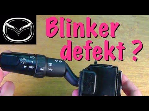 Defekten Blinker Schalter reparieren am Mazda 3 OHNE KOSTEN