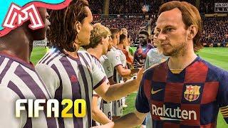 ENFRENTAMOS O BARCELONA!! - Modo Carreira FIFA 20 Ep. 9