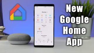 Full Tour of the NEW Google Home App