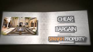 preview picture of video 'Cheap Bargain Spanish Property from Casas Espania'