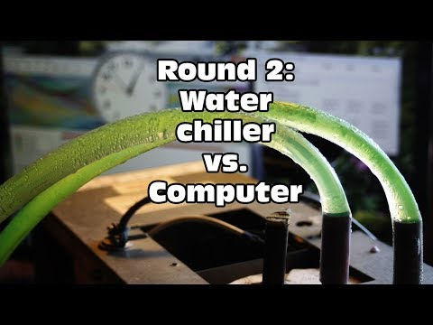 Water Chiller vs. Computer