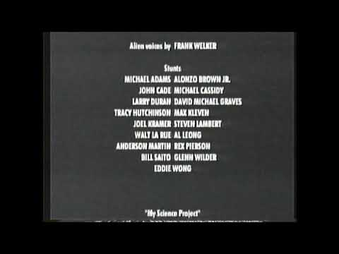 My Science Project (1985) End Credits (WGN 2004) Mp3