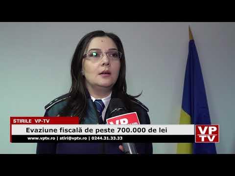 Evaziune fiscală de peste 700.000 de lei