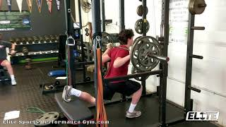 Single Leg Squats with Rear Leg Elevated
