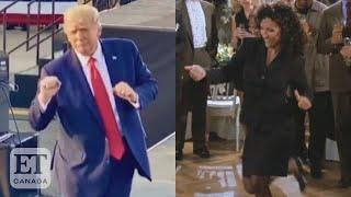 Julia Louis-Dreyfus Reacts To Trump's Dance Moves