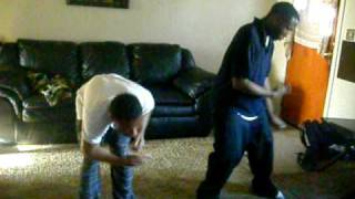 Dance Group Dangerous Squad Frum Youngstown Ohio 2 members dancing real quick 2 a mix