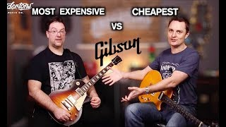The Most Expensive Les Paul vs the Cheapest Les Paul Challenge!
