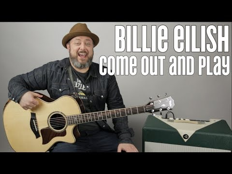 "Billie Eilish ""Come Out And Play"" Guitar Lesson"
