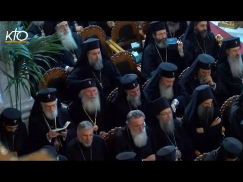 Concile orthodoxe : la célébration de la Pentecôte