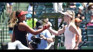 2018 Miami Second Round   Naomi Osaka vs. Elina Svitolina   WTA Highlights