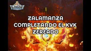 Lords Mobile (Español) - Probando el zalabot | Viendo armaduras