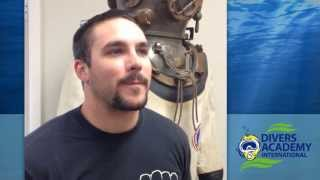 Why Commercial Diving School? Interview with David Dubois