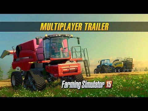 Multiplayerový trailer na Farming Simulator 15