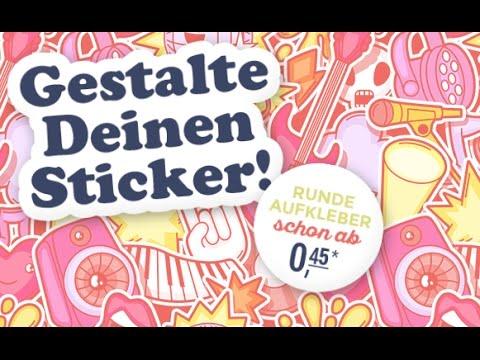 Aufkleber-selber-gestalten Gutschein einlösen auf gutscheine.de