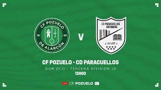 R.F.F.M - TERCERA DIVISIÓN NACIONAL - JORNADA 3 - C.F. POZUELO 2-2 C.D.B. PARACUELLOS ANTAMIRA