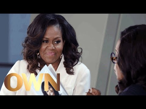 , title : 'Why Reluctant Michelle Obama Agreed to Let Barack Obama Run for President | Oprah's Book Club | OWN'