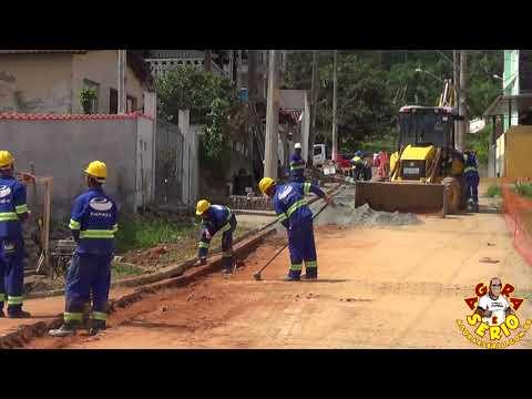 Sabesp e suas obras de destruição das ruas de Juquitiba Jardim das Palmeiras