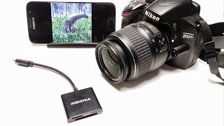 Insignia SD Card Reader •Mobile Photography Workflow Improvement