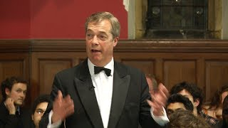 Nigel Farage | Brexit: We Should NOT Support the Deal (8/8) | Oxford Union