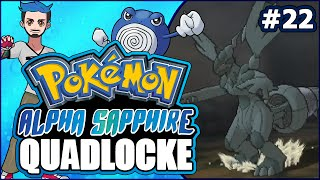 Zebstrika  - (Pokémon) - Pokémon AlphaSapphire Randomizer Quadlocke Part 22 | ZEBSTRIKA POSE, ZEKROM!