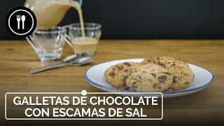 Galletas shortbread de chocolate con escamas de sal, POSTRE FÁCIL Y DELICIOSO | Directo al Paladar