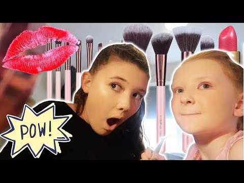 SISTERS FULL FACE OF MAKEUP TRANSFORMATIONS!