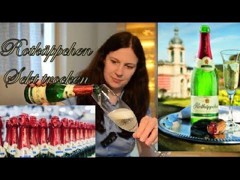 Rotkäppchen Sekt trocken | Deutschlands beliebtester Sekt | Sektprobe | Kultsekt Deutschlands