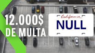 Debe MILES de DÓLARES en multas por registrar su MATRÍCULA cono NULL