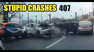 Stupid driving mistakes 407 (October 2019 English subtitles)