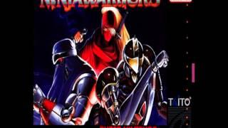 The Ninja Warriors (SNES) - Title