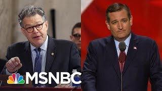 What Al Franken Said To Ted Cruz That Left Him Speechless | All In | MSNBC | Kholo.pk