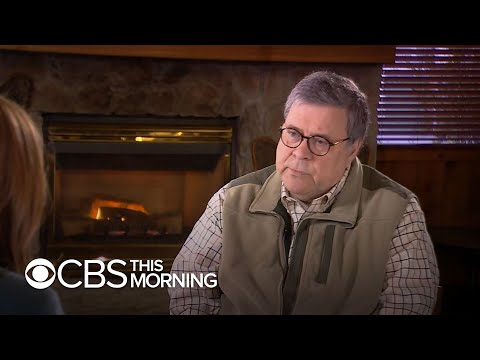 """Attorney General William Barr on caring about his reputation: """"Everyone dies"""""""