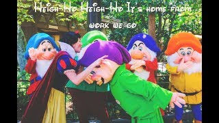 Heigh-Ho at Disneyland w/ Snow White and the Seven Dwarfs