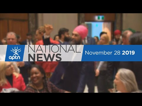 APTN National News November 28, 2019 – First Nation suicide emergency, Report on youth deaths