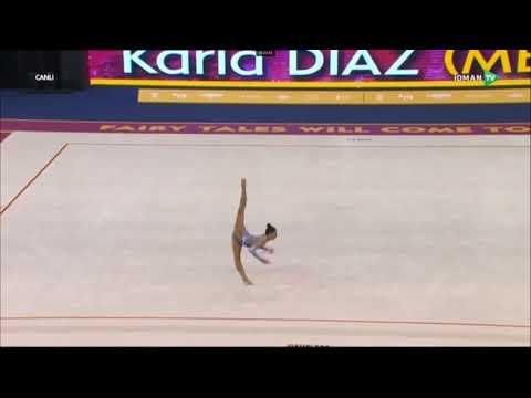 Karla DIAZ MEX Hoop Qualification 2019 World Rhythmic Gymnastis Championships