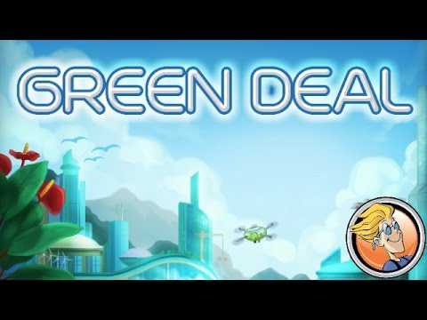Short intro into Green Deal with game designer Juma Al-JouJou and BGG