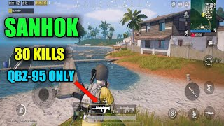 SANHOK Extreme Graphics| 30 Kills | PUBG Mobile