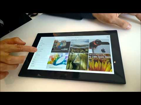 Here's What Flipboard Looks Like On A Windows Tablet [Video]