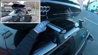 Audi Skibox Dachbox 300 Liter Schwarz 8V0071200 Y9B Audi A1/S1 Sportback Dach Box Montage Anleitung