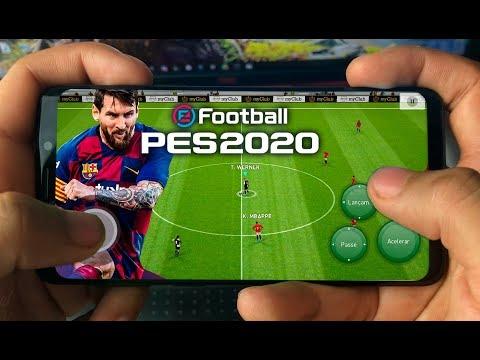 SAIU eFootball PES 2020 Mobile CONFERINDO O GAME