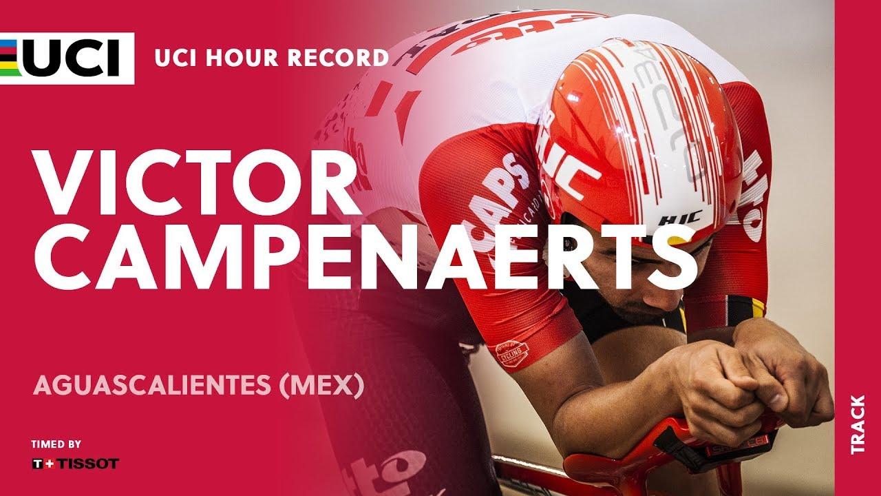 Il Record dell'Ora di Victor Campenaerts