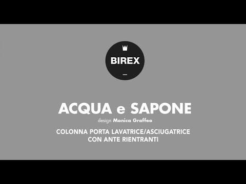 Acqua & Sapone  -  COLONNA PORTALAVATRICE