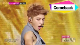[Comeback Stage] INFINITE - Back 인피니트 - 백, Show Music core 20140719